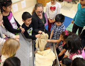North Park students learn about AIE