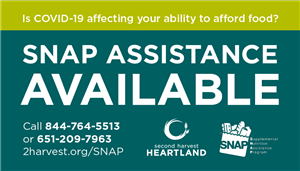 SNAP Assistance Button