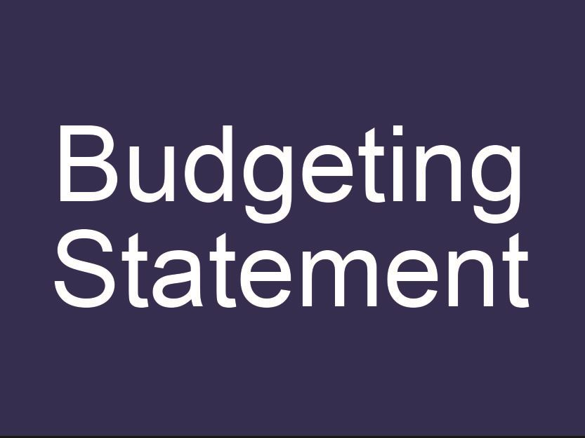 Budgeting Statement