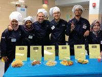 High School Students Have Culinary Throw Down with Principal Wrobleski