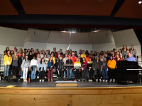 CHHS Concert Choir Hosts Collaborative Learning Event