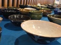 High School Students Create Bowls to Help Feed the Hungry
