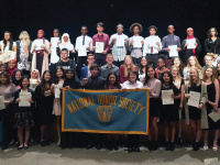 Columbia Heights High School Students Inducted into National Honor Society