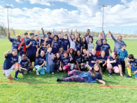 Columbia Academy Participates in Unified Soccer Tournament