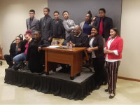 Columbia Academy ENCORE Students Participate in Mock Trial